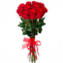 11 красных роз Премиум