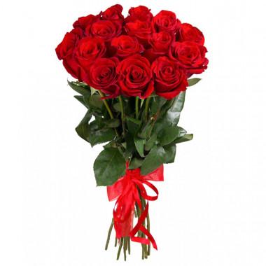 15 красных роз Премиум