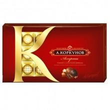 Коробка конфет Коркунов красная